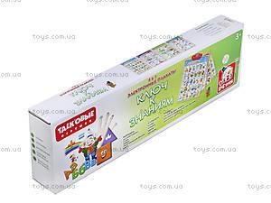 Плакат обучающий «Ключ к знаниям», SR6000, игрушки