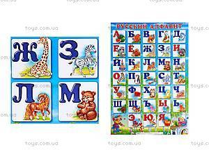 Плакат «Русский алфавит», 012711104001Р