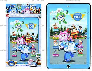 Детский планшет «Robocar POLI» с эффектами, 020-6