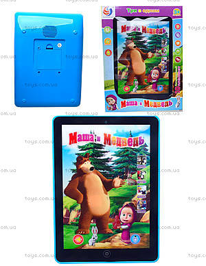 Детский планшет «Маша и Медведь», CS1012