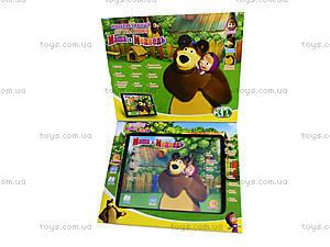 Интерактивный планшет для детей «Маша и Медведь», MD3305R, фото