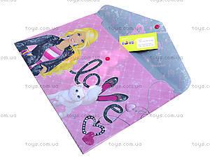 Пластиковая папка-конверт на кнопке, BRAB-US1-PLB-EN15