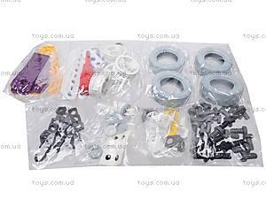 Пластиковый конструктор с 4 моделями, 2555-16E, купить