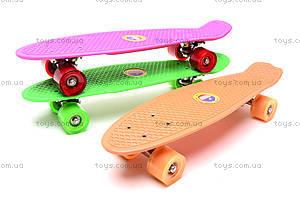 Пластиковый скейт для детей, 15840-1