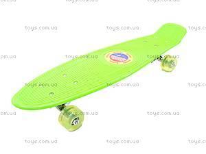 Пластиковый скейтборд, M350-3, детские игрушки