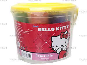 Пластилин мягкий Hello Kitty, HK13-089K