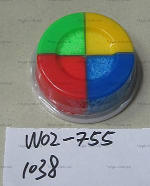 Пластилин шариковый, 4 цвета , 1038 (W02-755