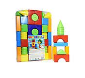 Пластмассовая игрушка конструктор, 1-072, купить