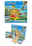 Пластмассовый конструктор «Схватка у источника», 045, детские игрушки