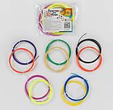 """Пластик для 3D ручки """"FUN GAME"""", 5 видов, 2 цвета в пакете, 86387, фото"""