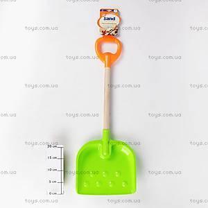 Пластиковая лопатка с деревянной ручкой, 2237A