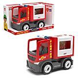 """Пластиковая машинка """"Пожарная машина"""", 27081, детские игрушки"""