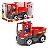 """Пластиковая машинка """"Пожарная машина с водителем"""", 27284, отзывы"""