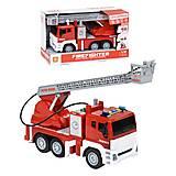 """Пластиковая игрушка """"Пожарная машина"""" WENYI (WY851A), WY851A"""