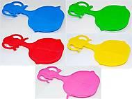 Пластиковые санки для детей «Льдинка» , 1318, детские игрушки