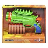 """Пластиковый бластер """"Стриж"""" зелёный, 0007-21AC, игрушки"""