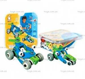 Пластиковый конструктор Build&Play «Машинки», 2555-8Е