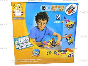 Пластиковый конструктор «Самолет и вертолет», 2555-9, детские игрушки