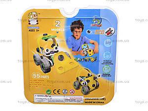 Пластиковый конструктор «Две модели машин», 2555-10E, купить