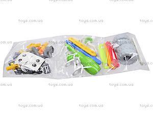 Пластиковый конструктор «Две модели машин» для детей, 2555-11, фото