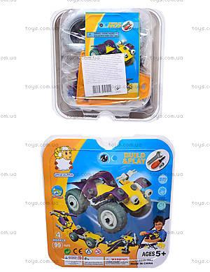 Пластиковый конструктор с 4 моделями, 2555-16E