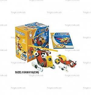 Пластиковый конструктор в пластиковом боксе, 2555-13А