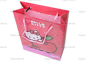 Пластиковый подарочный пакет Hello Kitty, HK13-204-1K, фото
