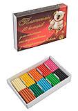 """Пластилин 10 цветов 100 грамм """"Мишка"""" (6 наборов в упаковке), ТЕ282, отзывы"""