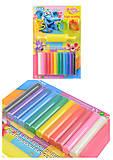 Пластилин 12 цветов, 200 гр, 4 формочки + скалка, ST-200-12+4SMR, отзывы