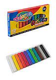 Пластилин для творчества 12 цветов, 13291PTR1, фото