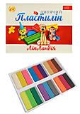 """Пластилин 18 цветов 360 гр """"Липландия"""", ТЕ271(461340), фото"""