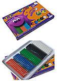 Пластилин Smart Line 5 цветов 100 г, ZB.6220, детские игрушки