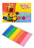 Пластилин 6 цветов, 100 гр, NARA , SFT-100-6, детские игрушки