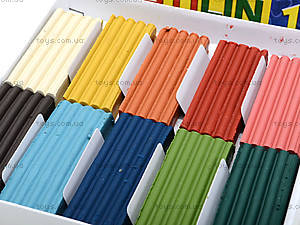 Детский пластилин для лепки, 10 цветов, Ц259020У, фото