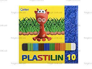 Детский пластилин для лепки, 10 цветов, Ц259020У, отзывы