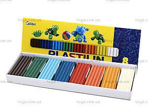 Детский пластилин для лепки, 8 цветов, Ц259026У, купить