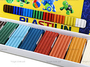 Детский пластилин для лепки, 8 цветов, Ц259026У, фото