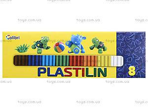 Детский пластилин для лепки, 8 цветов, Ц259026У, отзывы