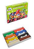 "Пластилин Гамма ""Малыши"", 8 цветов 120 г, 331019, детские игрушки"