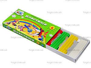 Пластилин для детей «Малыши», 6 цветов, 331018, купить