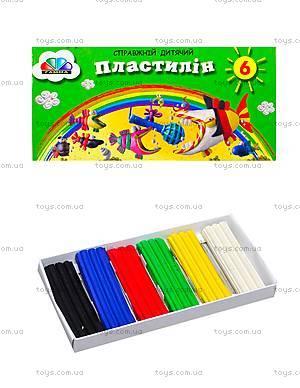 Пластилин для детей «Малыши», 6 цветов, 331018