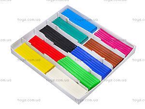 Пластилин серии «Увлечение», 10 цветов, 331010, купить