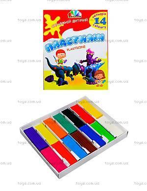 Детский пластилин Гамма серии «Увлечение», 14 цветов, 331036