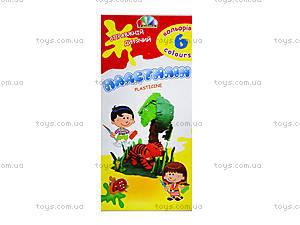 Пластилин Гамма «Увлечение», 6 цветов, 331008, отзывы