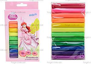 Пластилин неоновый Princess, 12 цветов, P13-088K