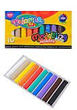 Термопластилин Colorino 10 цветов, 42741PTR, детские игрушки