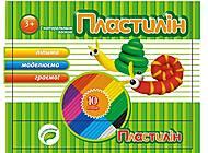 """Пластилин 10 цветов 100 грамм """"Флуоресцентный Пантон"""" (6 наборов в упаковке), ТЕ281, цена"""