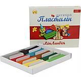 """Пластилин 10 цветов 200 грамм """"Липландия"""" (5 наборов в упаковке), ТЕ268, купить"""