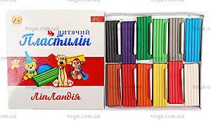 """Пластилин 16 цветов """"Липландия"""", 320 гр, ТЕ270"""