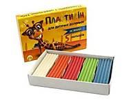 Пластилин 5 цветов 10 грамм, мягкий с церезином (5 наборов в упаковке), ТЕ273, игрушки